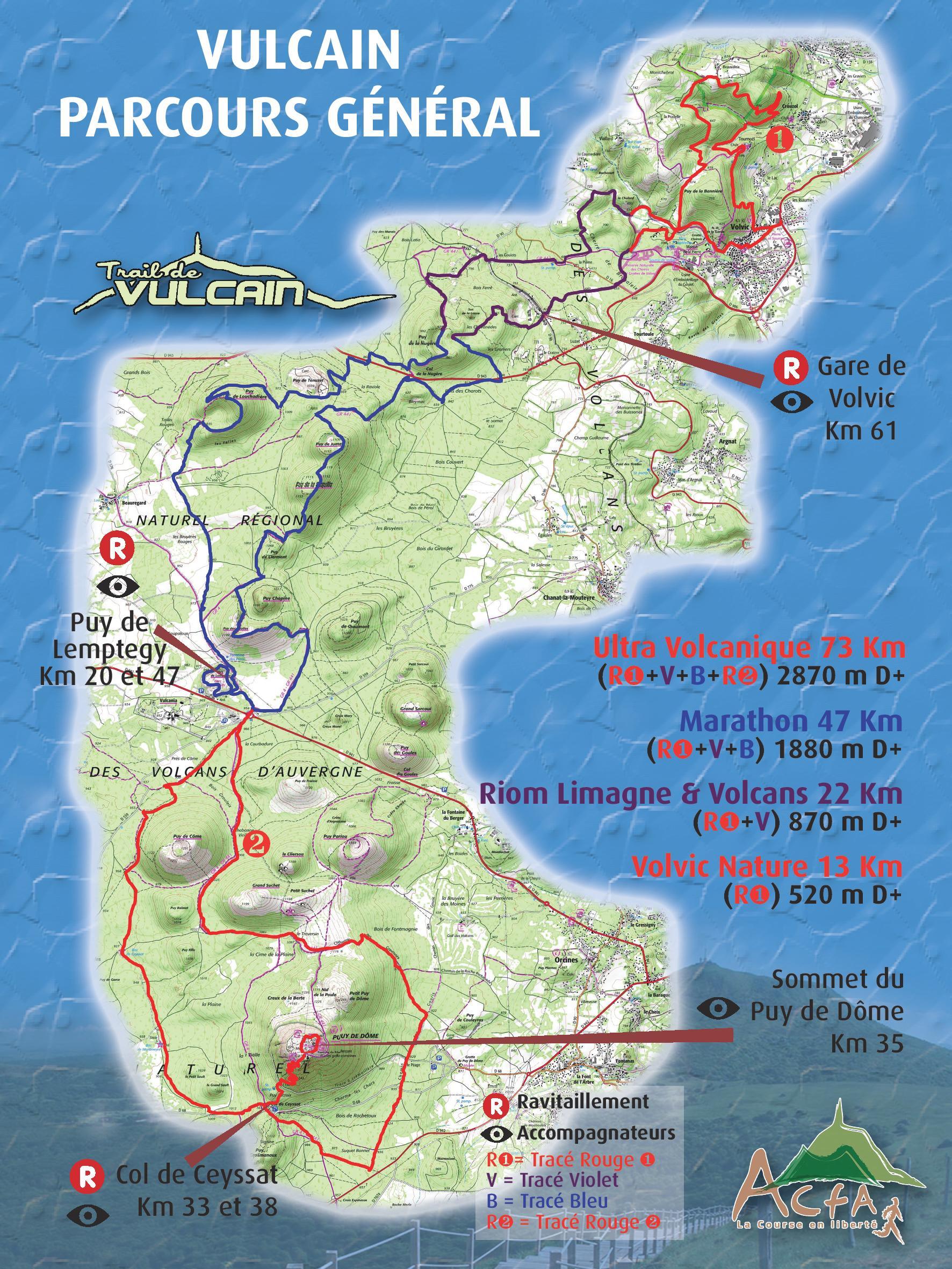 Calendrier Trail Auvergne.Trail De Vulcain Une Belle Aventure